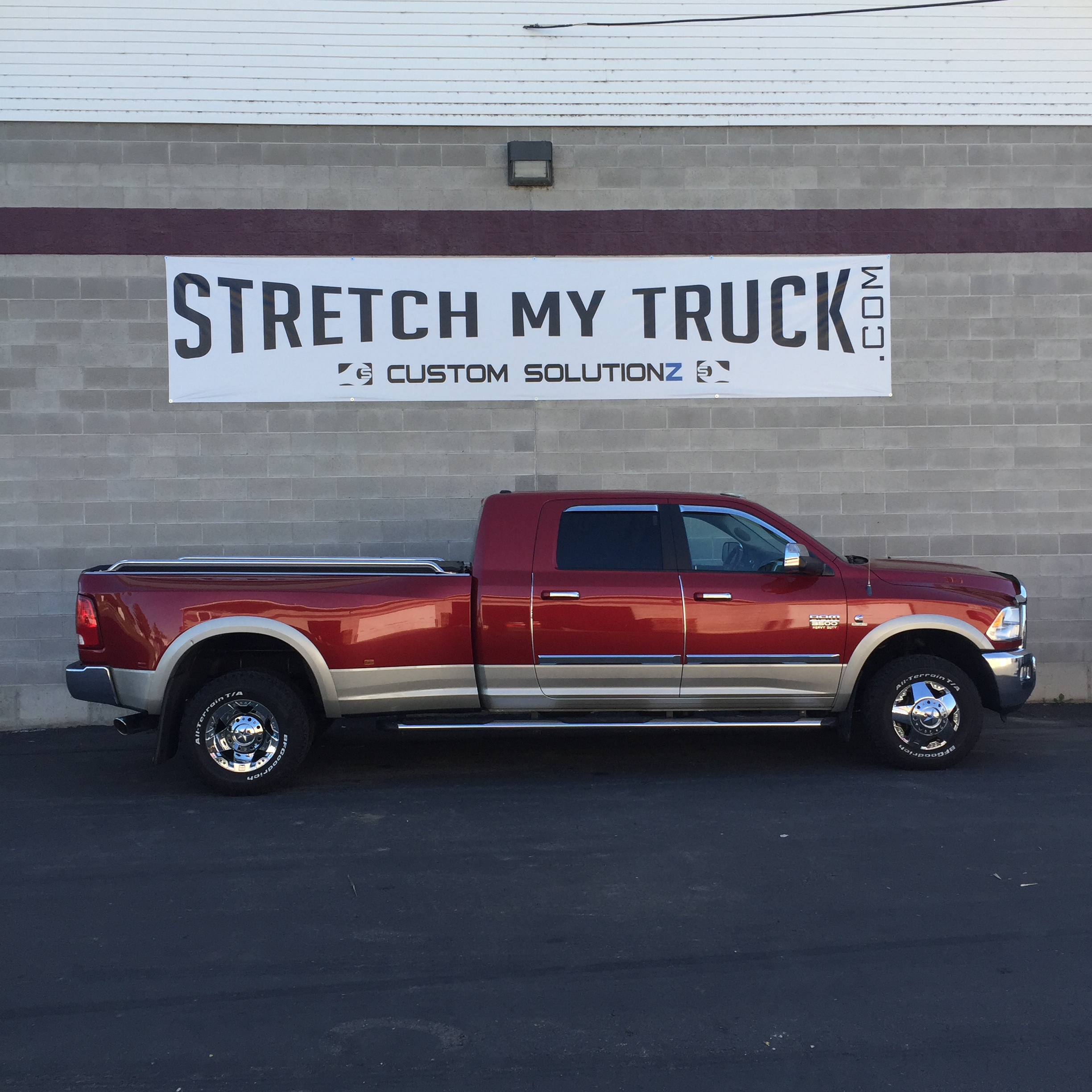 Used Diesel Trucks >> Longbed Conversions - Stretch My Truck