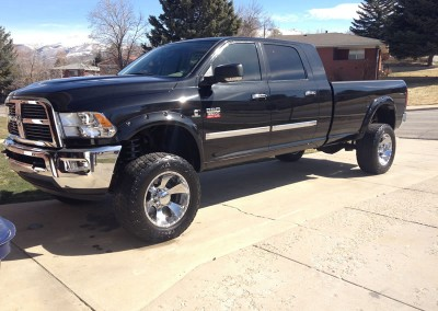 Black Ram Mega Cab Long Bed