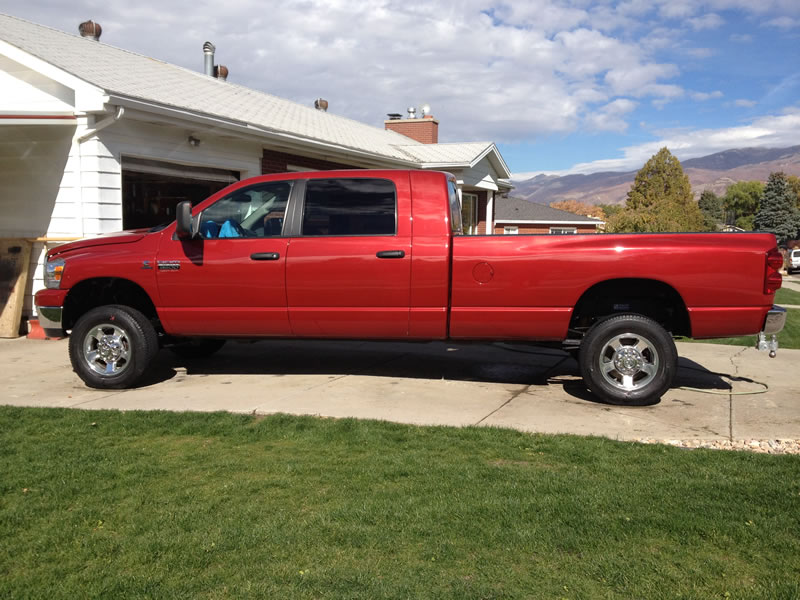 Dodge Ram Mega Cab Long Bed