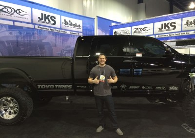 Mega Cab Long Bed at SEMA