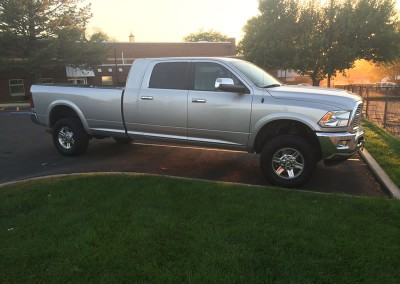 Ram 3500 Mega Cab with a long bed conversion