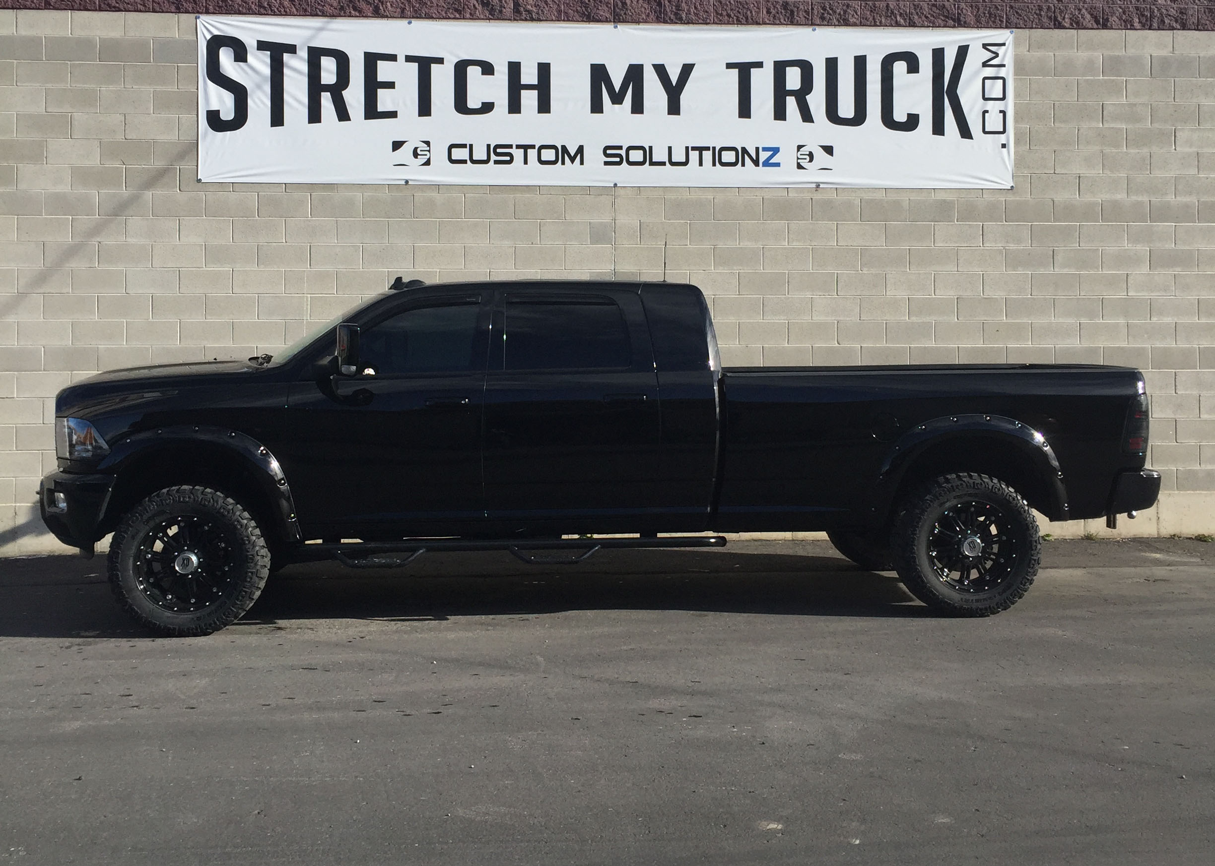 Mega Cab Long Bed >> Longbed Conversions Stretch My Truck