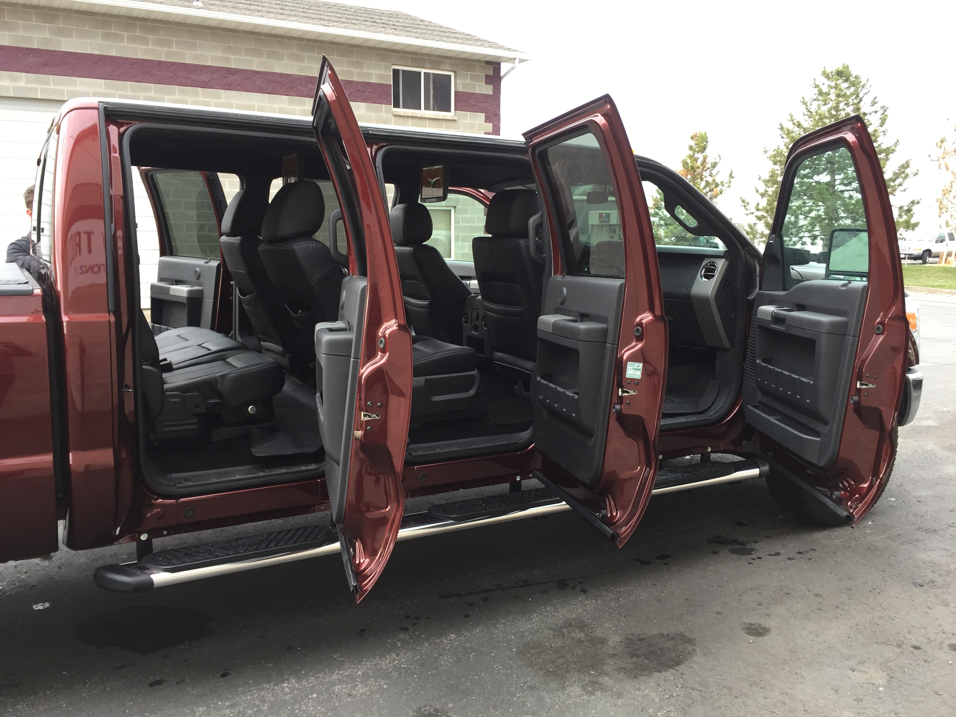 6 Door Truck >> Six Door Conversions Stretch My Truck