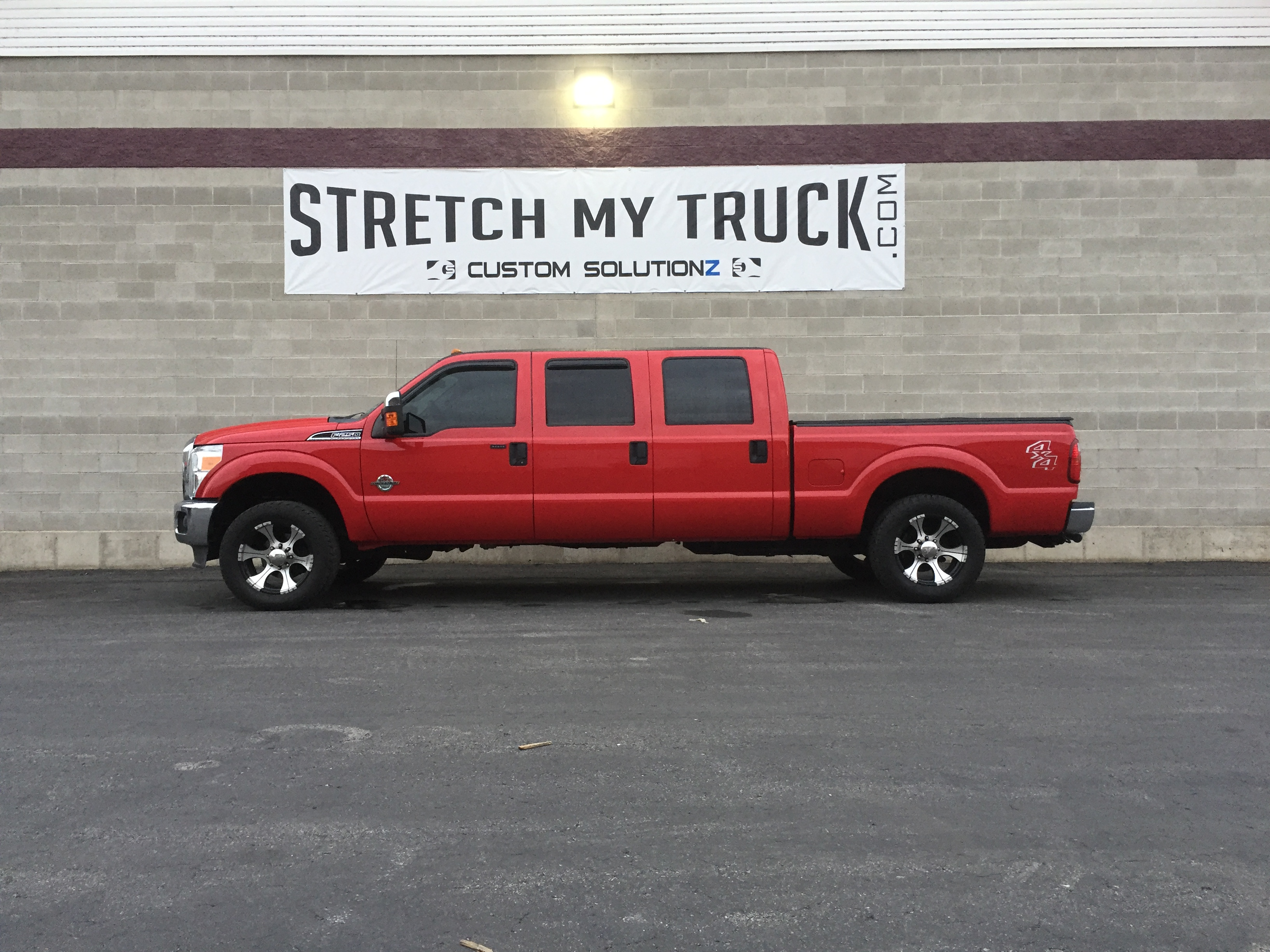 Six Door Conversions Stretch My Truck