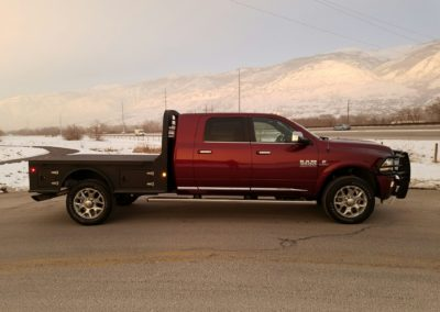 2017 Ram 3500 Cummins Long Bed Mega Cab Flat Bed