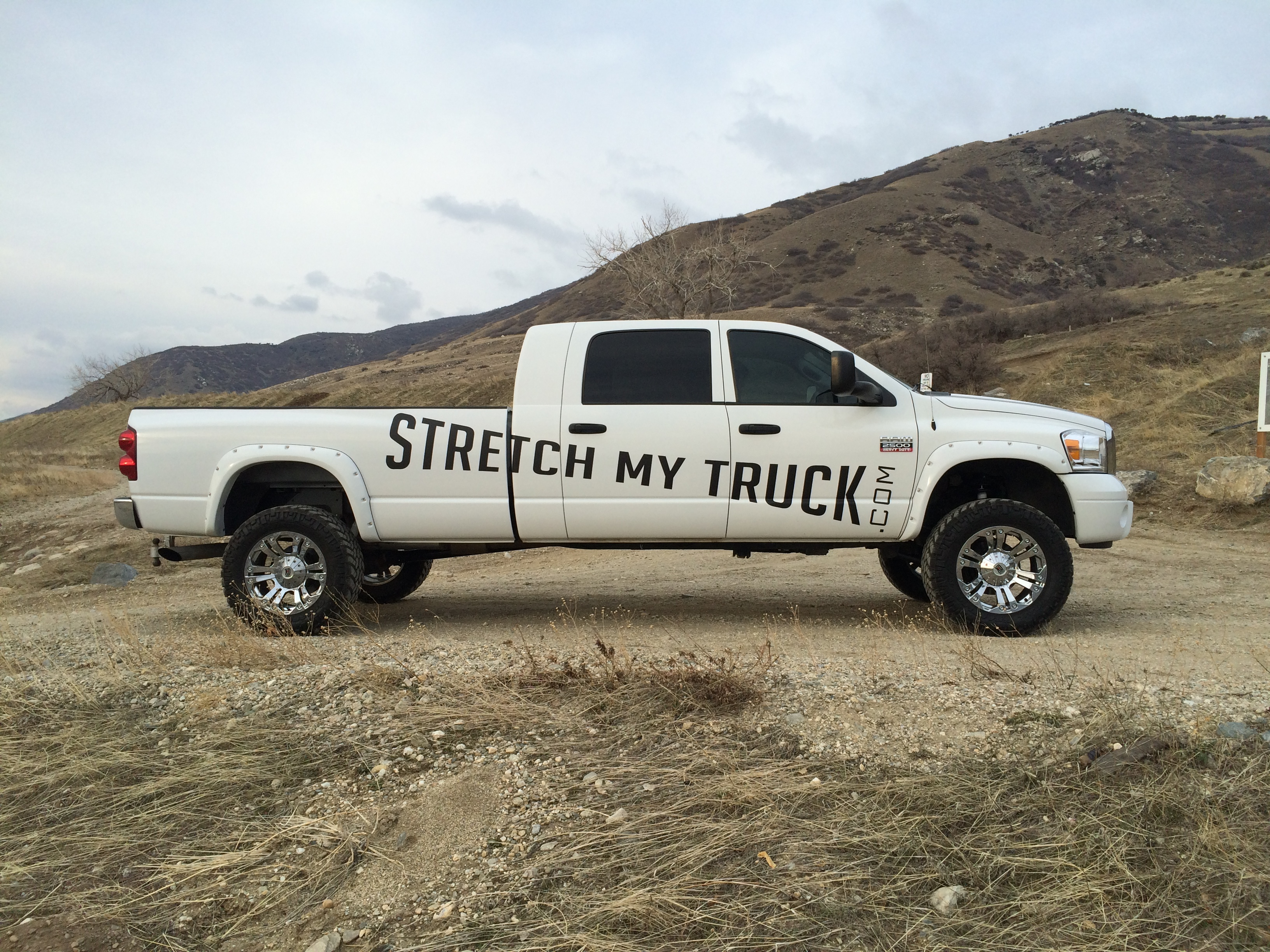 Stretch My Truck 1954 Chevy Crew Cab Longbed Conversion